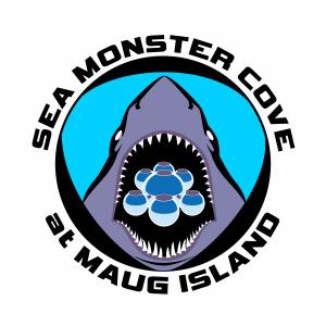 This is a photo of the Sea Monster Cove Daemonium Logo Design