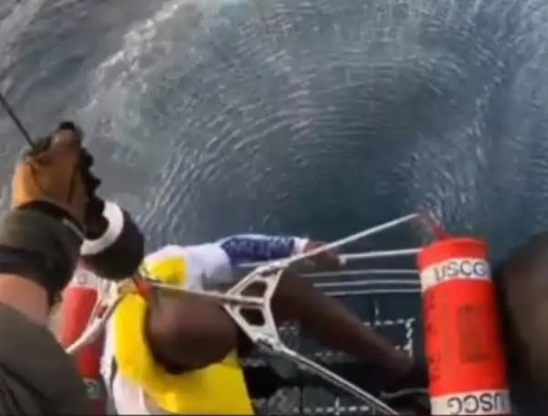 4 people rescued from gulf waters in florida