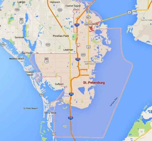ST Petersburg Homes For Sale Map Search TampaHomesSold