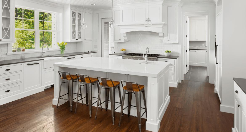 white kitchen remodel, kitchen remodel