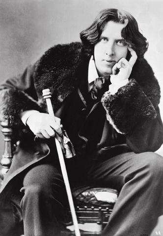 Portrait of Oscar Wilde with Cane