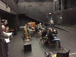 Act III rehearsal