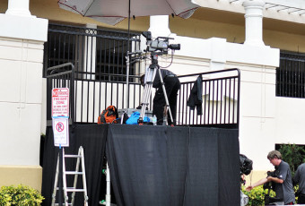 Tampa Stage Rental  Stages Risers Pipe  Drape Lighting