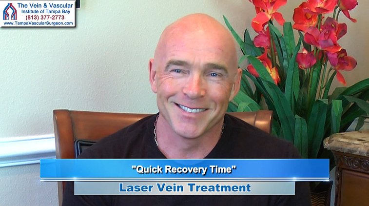 Tampa Laser Vein Treatment Patient at The Vein and Vascular Institute of Tampa Bay