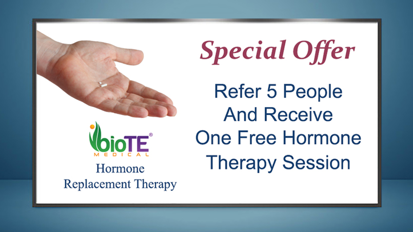 Hormone Replacement Therapy Lutz FL Special Offer