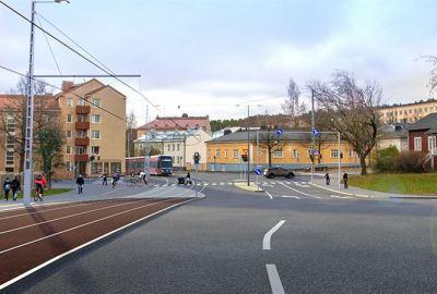 YIT rakentaa Tampereen raitiotieverkon vaiheen kaksi yhdessä Raitiotieallianssin kanssa