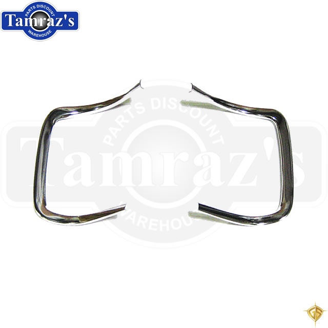 68-69 Charger Outer Grille Chrome Molding Moulding Trim