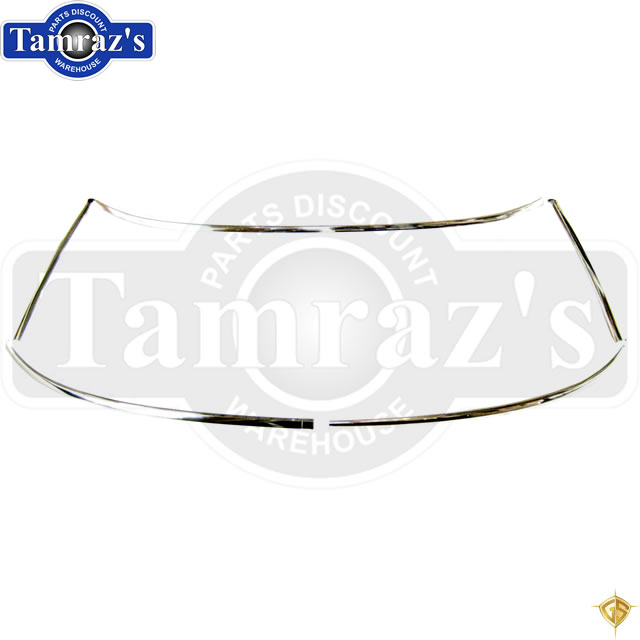 67-69 F-Body Convt Front Window Windshield Reveal Chrome