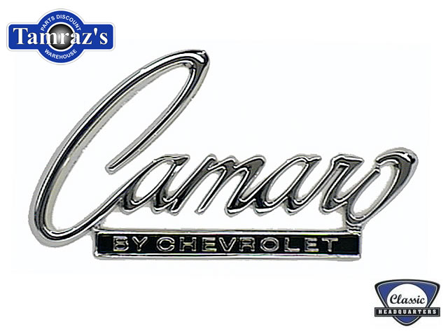 68 69 Camaro by Chevrolet Trunk Lid Header Panel Emblem