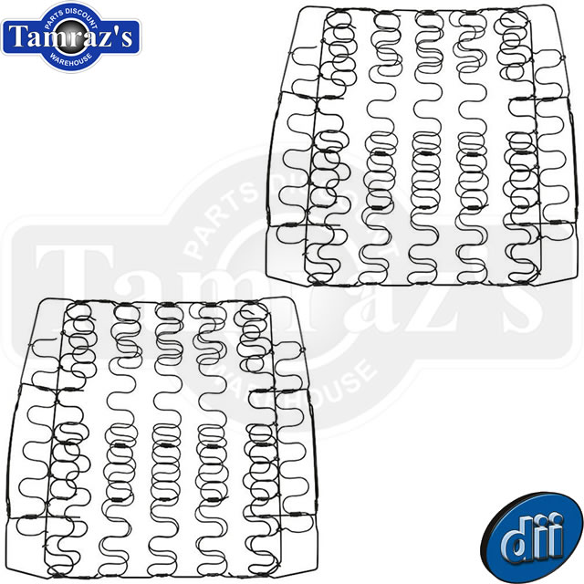 64-65 Chevelle Front Bucket UPPER BACK Seat Spring