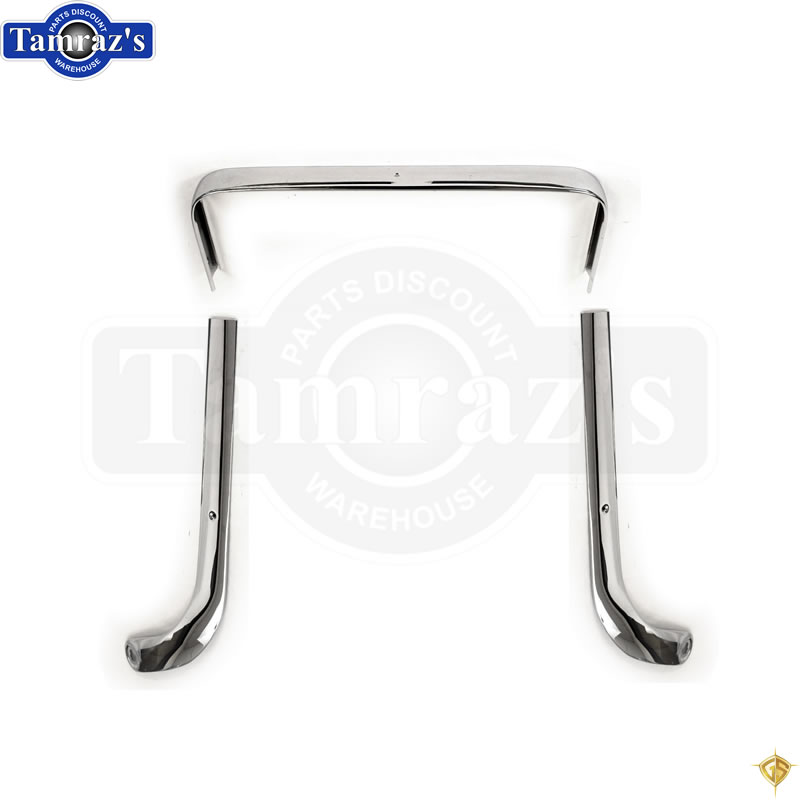 65 Impala Bucket Seat Back Top Side Hinge Chrome Metal