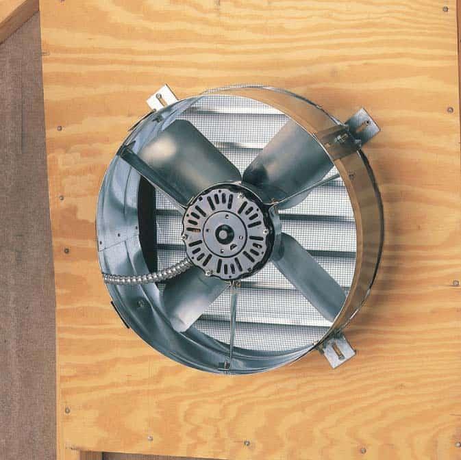 powered gable end vent cx1600