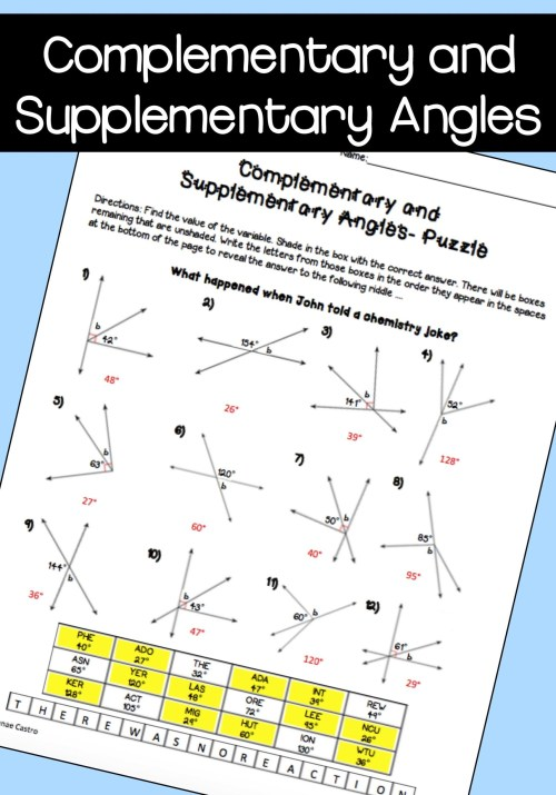 small resolution of High School Halloween Geometry Worksheets   Printable Worksheets and  Activities for Teachers