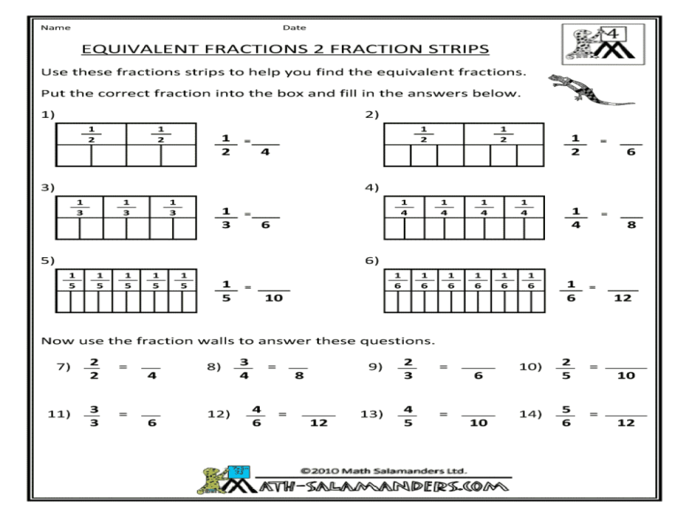 medium resolution of 4th Grade Eureka Fraction Worksheets   Printable Worksheets and Activities  for Teachers