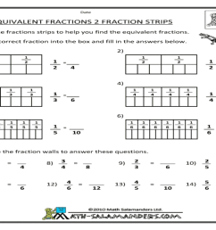 Equivalent Fractions Worksheets Firecrackers   Printable Worksheets and  Activities for Teachers [ 768 x 1024 Pixel ]