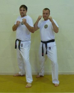 Jason Collins and Marc Adams - 4th Dan Black Belts