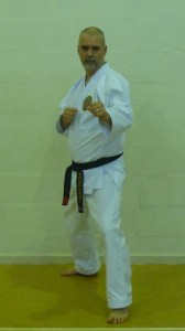 Mark Ridler - 3rd Dan black belt