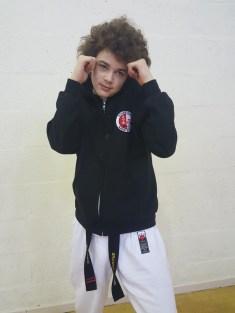 Brandon Adams 2nd Dan Black Belt