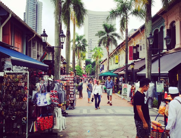 Arab Street, Singapore. Credit @ tamzexplores