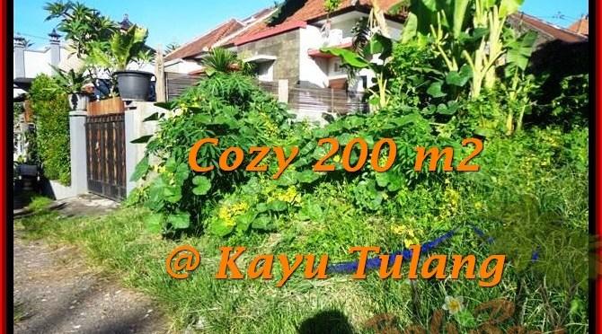 JUAL TANAH di CANGGU BALI 200 m2 di Canggu Kayutulang