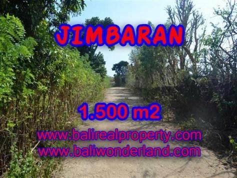 DIJUAL TANAH DI JIMBARAN RP 2.850.000 / M2 - TJJI075 - INVESTASI PROPERTY DI BALI