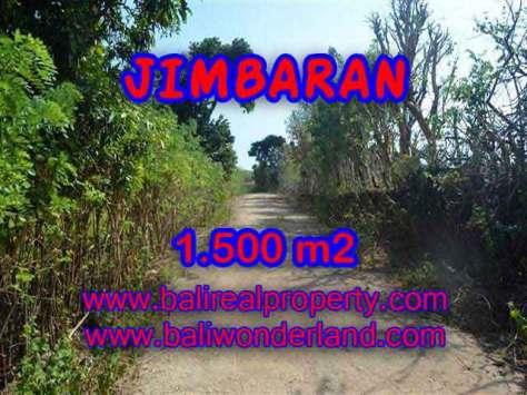 JUAL TANAH MURAH di JIMBARAN BALI 1,500 m2  Lingkungan Perumahan dan Villa
