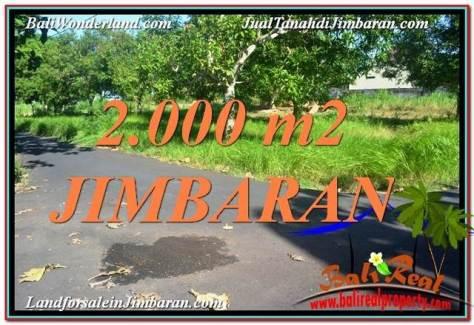 TANAH MURAH di JIMBARAN BALI 2,000 m2  View Laut dan Jalan Tol