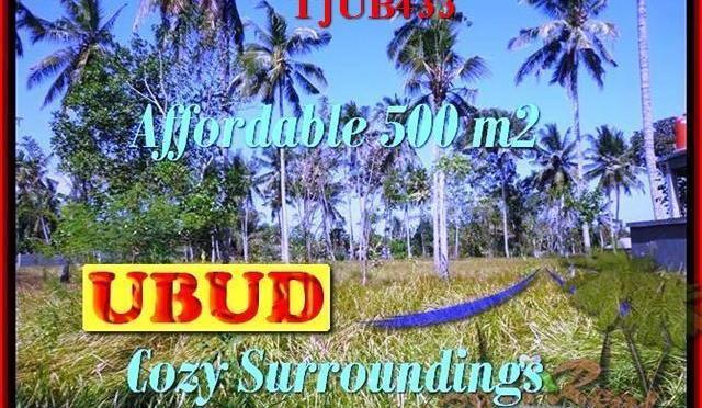 TANAH MURAH di UBUD DIJUAL 500 m2 di Sentral Ubud