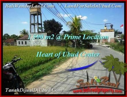 DIJUAL TANAH di UBUD 15 Are di Sentral Ubud