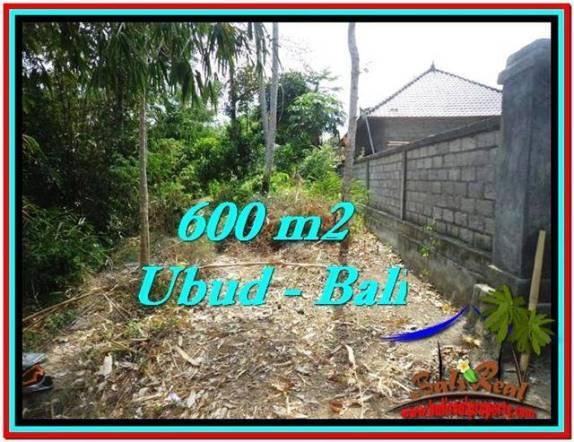 TANAH di UBUD DIJUAL 600 m2 di Sentral Ubud