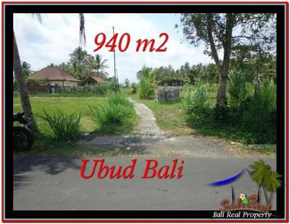 INVESTASI PROPERTY, JUAL TANAH MURAH di UBUD BALI TJUB531