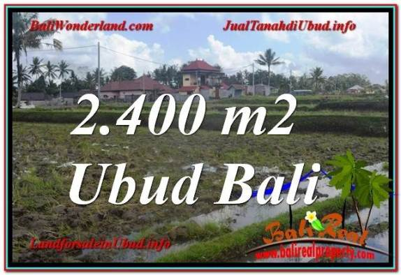 INVESTASI PROPERTY, JUAL TANAH MURAH di UBUD BALI TJUB620