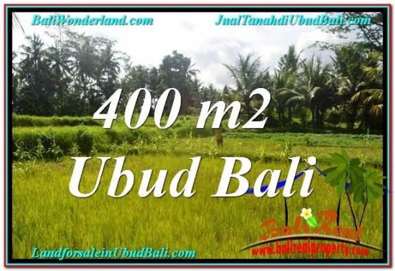 JUAL MURAH TANAH di UBUD 4 Are View Sawah