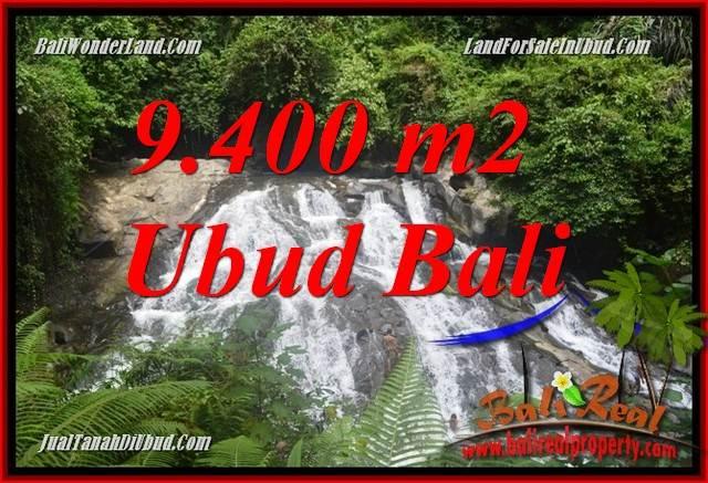 Tanah Murah di Ubud Bali Dijual 9,400 m2 di Ubud Gianyar