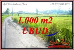 Investasi Property, jual Tanah di Ubud Bali TJUB739
