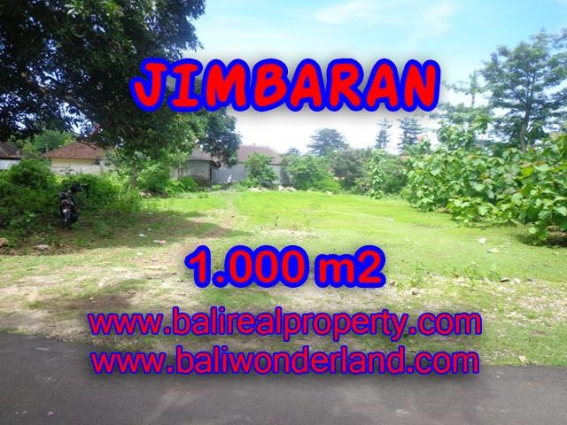 Tanah di Jimbaran Bali dijual 1.000 m2 Lingkungan villa di Jimbaran four seasons