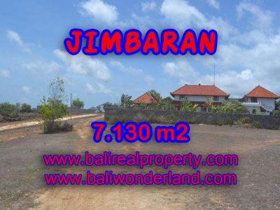 Tanah di Jimbaran dijual 71,3 Are Lingkungan villa di Jimbaran Ungasan