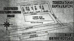 Dijual Tanah Kavling di Jimbaran Bali, Lokasi Bagus - T1074