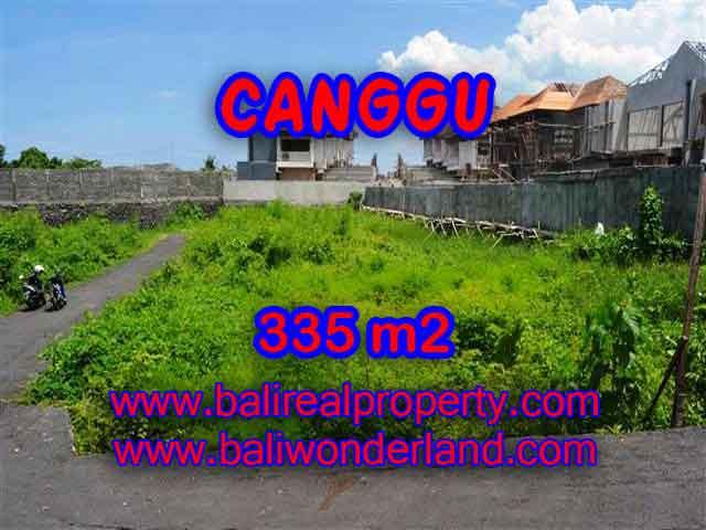 TANAH DI BALI DIJUAL MURAH DI CANGGU CUMA RP 3.850.000 / M2 - INVESTASI PROPERTY DI BALI