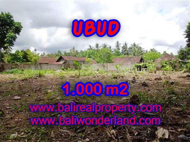 Jual Tanah murah di UBUD TJUB373 - investasi property di Bali