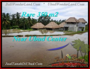 JUAL TANAH MURAH di UBUD 350 m2  View sawah link villa