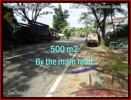 JUAL TANAH di TABANAN BALI 500 m2  Lingkungan Perumahan