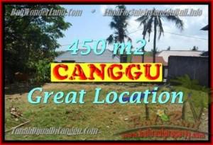 JUAL TANAH di CANGGU 450 m2 di Canggu Pererenan