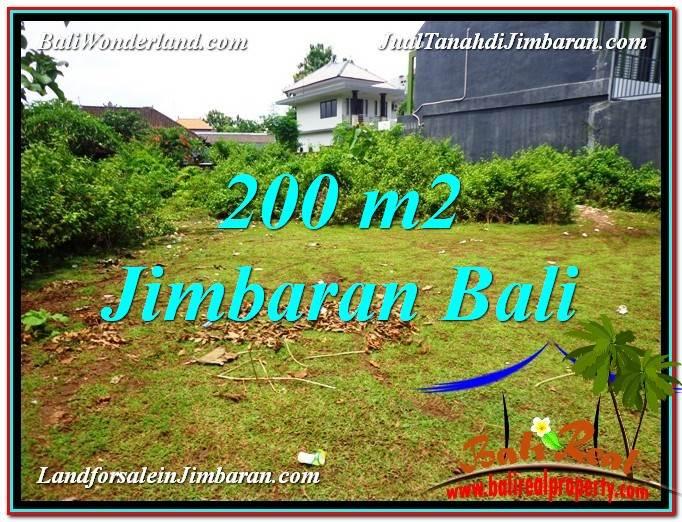 JUAL MURAH TANAH di JIMBARAN BALI 200 m2  Dekat Kampus