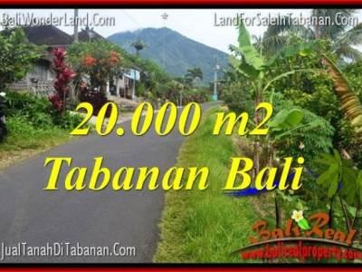 TANAH MURAH di TABANAN DIJUAL Untuk INVESTASI TJTB315