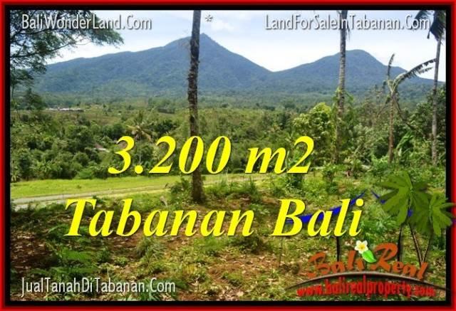 DIJUAL MURAH TANAH di TABANAN BALI 32 Are View gunung dan sawah
