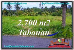 INVESTASI PROPERTI, DIJUAL TANAH di TABANAN TJTB301