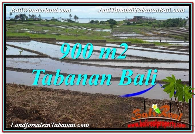 TANAH MURAH JUAL di TABANAN BALI 900 m2  View Laut, Gunung dan sawah