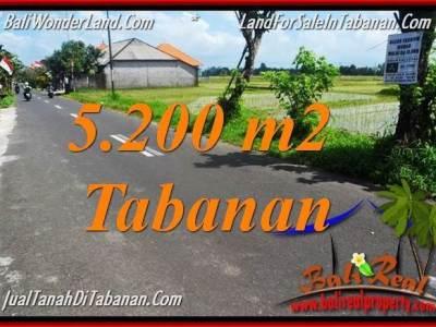 INVESTASI PROPERTI, DIJUAL MURAH TANAH di TABANAN BALI TJTB351