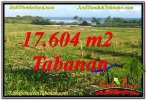 JUAL TANAH di TABANAN 176.04 Are View Laut, Gunung dan sawah
